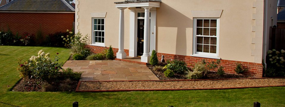 South Norwich Front Garden Design